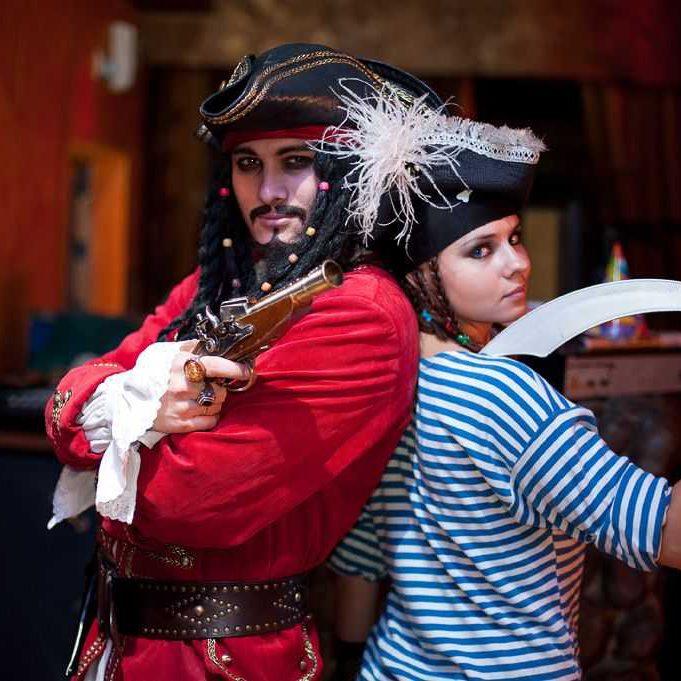 Пиратская вечеринка (групповой выпускной) 8