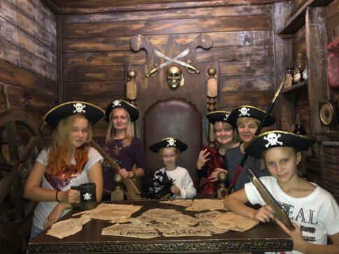 Квест «Пиратское золото» или «Полундра» (индивидуальный выпускной) 33