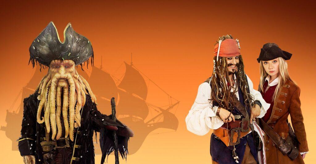 Пираты на праздник