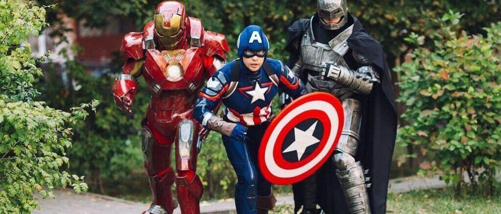 Аниматор Капитан Америка 7