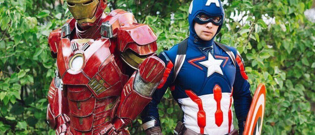 Аниматор Капитан Америка 4