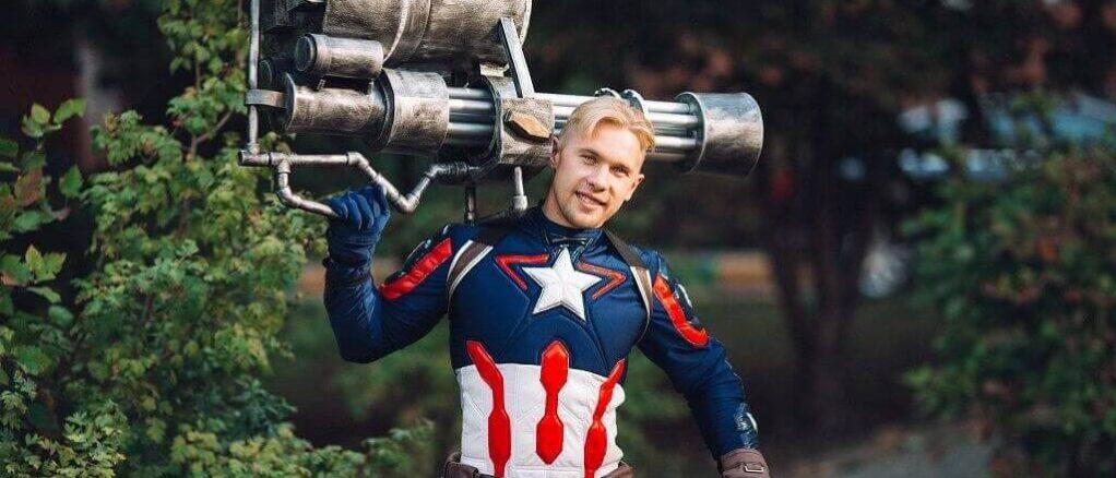 Аниматор Капитан Америка 3