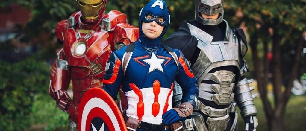 Аниматор Капитан Америка 10