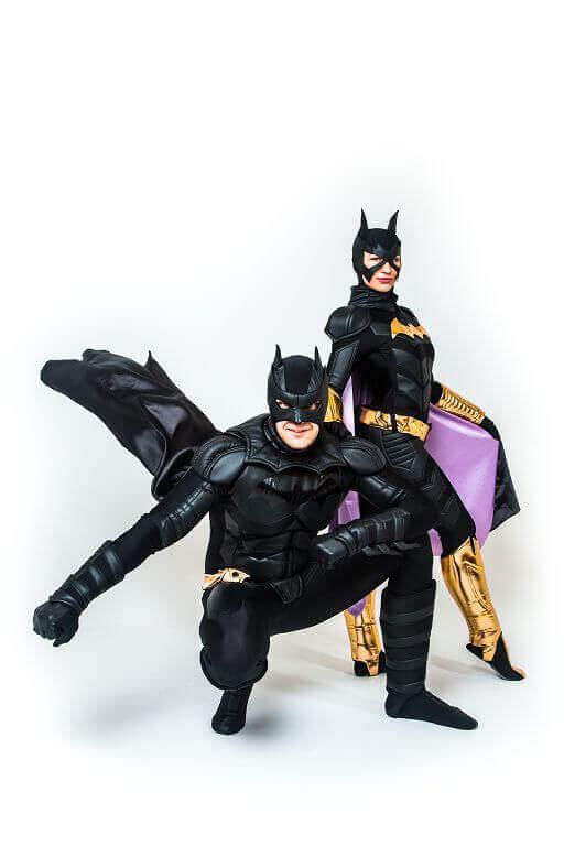 Аниматор Бэтмен и Женщина кошка 1