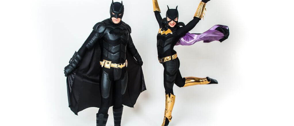 Аниматор Бэтмен и Женщина кошка 7