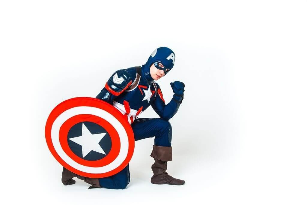 Аниматор Капитан Америка 1